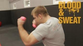 getlinkyoutube.com-Бокс. Тренировка взрывной силы и анаэробной выносливости. Explosive strength and aerobic endurance.