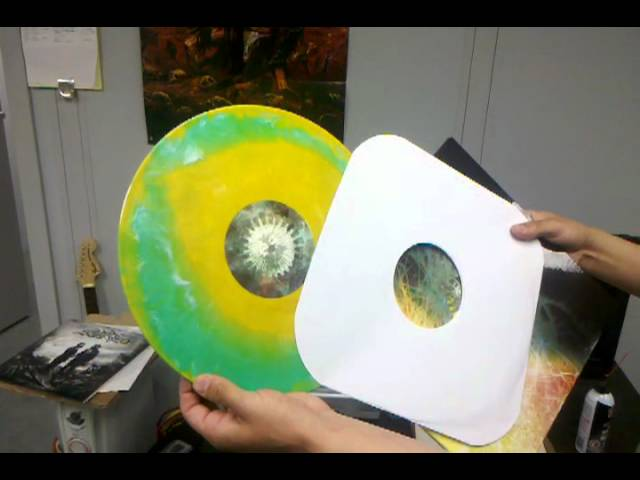 Sneak peek: Animals As Leaders double vinyl w/ 3D glasses