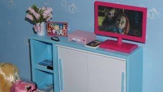 getlinkyoutube.com-Como fazer TV LCD #2 para boneca Monster High, Barbie, etc