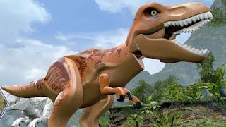 getlinkyoutube.com-LEGO Jurassic World - All Dinosaurs Unlocked - A Look at all Playable Dinosaurs