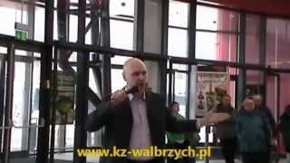 Artur Ceroński - ewangelizacja w Galerii Victoria w Wałbrzychu