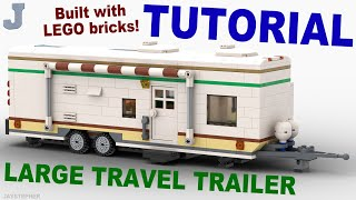 getlinkyoutube.com-Tutorial - Large Lego Travel Trailer