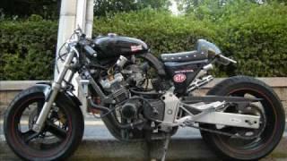getlinkyoutube.com-honda hornet250 ホーネット250 CB250 Cafe Racer