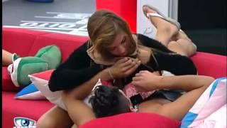 getlinkyoutube.com-Vânia e Daniel quase se beijam na boca