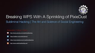 getlinkyoutube.com-Breaking WPS With A Sprinkling of PixieDust by Subliminal Hacking