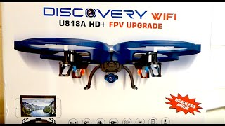 getlinkyoutube.com-Review: UDI U818A WiFi FPV RC Quadcopter Drone with HD Camera