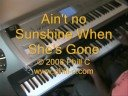 Ain't No Sunshine When She's Gone - Bill Withers ((Jazz Piano in STEREO))