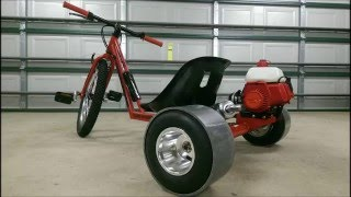 getlinkyoutube.com-49cc Petrol Powered Motorised Drift Trike