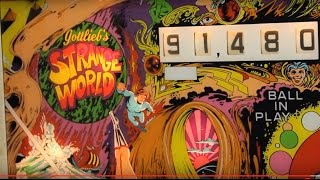 getlinkyoutube.com-1978 Gottlieb STRANGE WORLD pinball machine