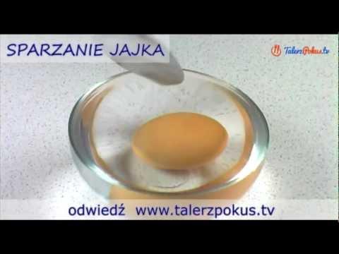 Sparzanie jajka