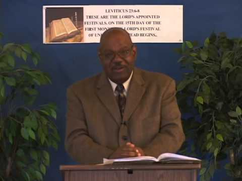 God's Unleavened Holiness (4-15-14)