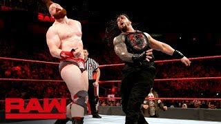 Roman Reigns vs. Sheamus: Raw, Feb. 12, 2018