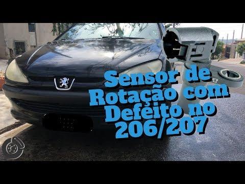 Defeito no Sensor de Rotacao do Peugeot 206 ?