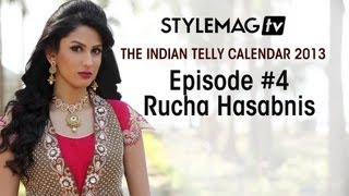 getlinkyoutube.com-Episode #4 - Rucha Hasabnis- The Indian Telly Calendar 2013 Exclusives - Stylemag TV