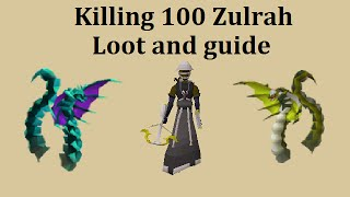 getlinkyoutube.com-Guide and loot from 100 Zulrah