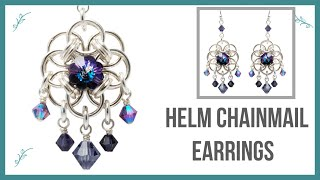 getlinkyoutube.com-Helm Chainmail Earrings Tutorial - Beaducation.com