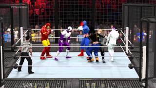 WWE 2K15 Marvel vs Dragonball z villains