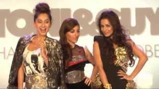 Malaika Arora Khan, Soha Ali Khan & Anusha Dandekar walk the ramp @ Toni & Guy hair meet wardrobe