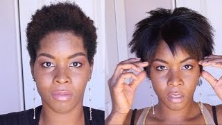 getlinkyoutube.com-How to Straighten Kinky Hair With Aveda's Naturall