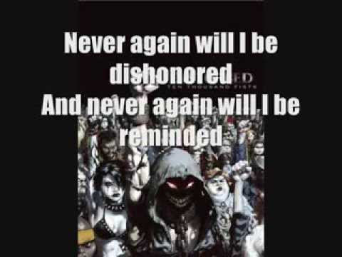 Disturbed-I'm Alive Lyrics