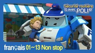 Compilation #1 Robocar Poli - Sécurité routière