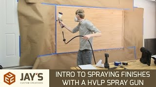getlinkyoutube.com-Intro to Spraying Finishes With a HVLP Spray Gun - 241