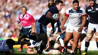 Scotland v USA - Full Match Highlights - Rugby World Cup 2015