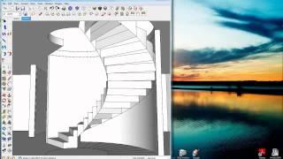 getlinkyoutube.com-Sketchup Tutorial Curviloft Plugin
