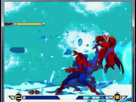 SS Spidey Mugen #6 Spiderman and Predator vs God Rugal
