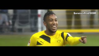 getlinkyoutube.com-Pierre-Emerick Aubameyang - All Goals & Assists 2014/15 [Part 1] | HD
