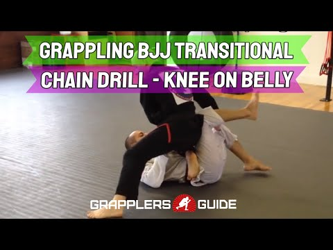 Grappling BJJ Transitional Chain Drill - Jason Scully