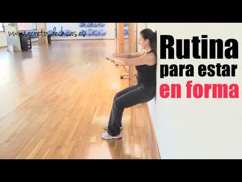 """Rutina de ejercicios """" Transforma tu cuerpo"""""""