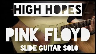 getlinkyoutube.com-Pink Floyd High Hopes guitar solo performed by Claudio Tristano