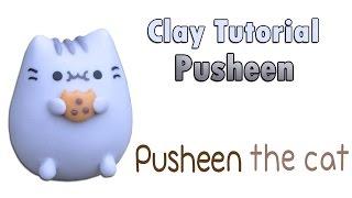 getlinkyoutube.com-How to: PUSHEEN Cookie ✔ Clay Tutorial ★ Porcelana fria / Cold porcelain ★