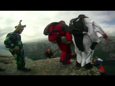 BASE Jumping Paraplegic - Earth