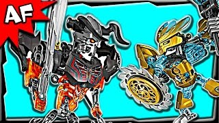 getlinkyoutube.com-Lego Bionicle Mask Maker vs Skull Grinder 70795 Stop Motion Build Review