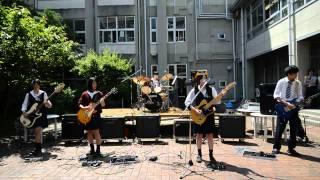 getlinkyoutube.com-SPYAIR 『 サムライハート 』 -新入生歓迎中庭ライブ-