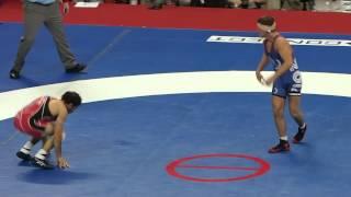 getlinkyoutube.com-Zadick v Stieber 3rd period 2012 Olympic Trials