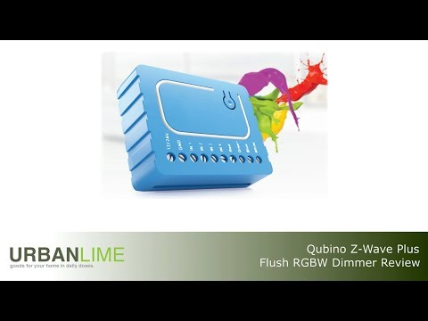 Qubino RGBW Flush Dimmer Review and Installation How To