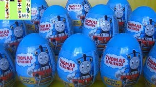 getlinkyoutube.com-12 Thomas egg surprise with cool figures inside