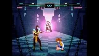 getlinkyoutube.com-Mugen: Crossover Evolution - Satsuki vs MK vs SF Chameleon