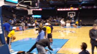 getlinkyoutube.com-Stephen Curry Pregame Warmup 1:16:15