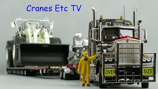 getlinkyoutube.com-Drake Kenworth C509 + Drake Steerable Trailer 'NHH' by Cranes Etc TV