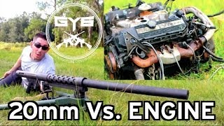 getlinkyoutube.com-Cannon 20mm -Vs.- Engine