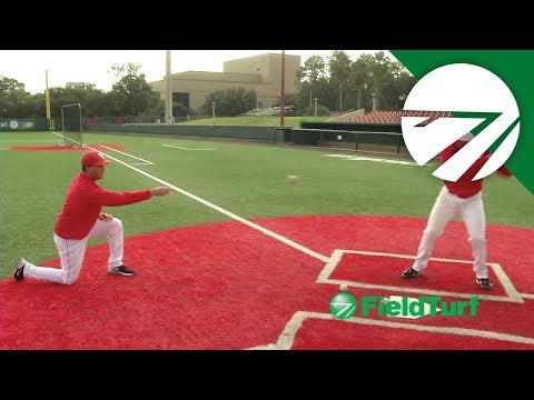 Soft Toss Drive Hitting Drill - Baseball Training with Todd Whitting on FT Academy