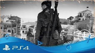 getlinkyoutube.com-Sniper Elite 4   Italy 1943 Story Trailer   PS4