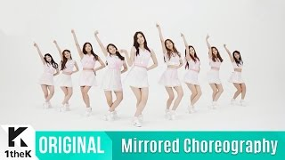 getlinkyoutube.com-[Mirrored] gugudan(구구단) _ Wonderland Choreography(원더랜드 거울모드 안무영상)_1theK Dance Cover Contest