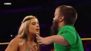 getlinkyoutube.com-WWE NXT Kissing Contest