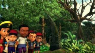 getlinkyoutube.com-Upin & Ipin - Kembara Ke Pulau Harta Karun (Bahagian 4)