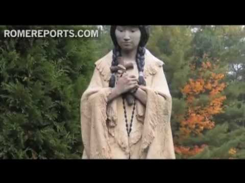 Biography of St  Kateri Tekakwitha  the first Native American Saint